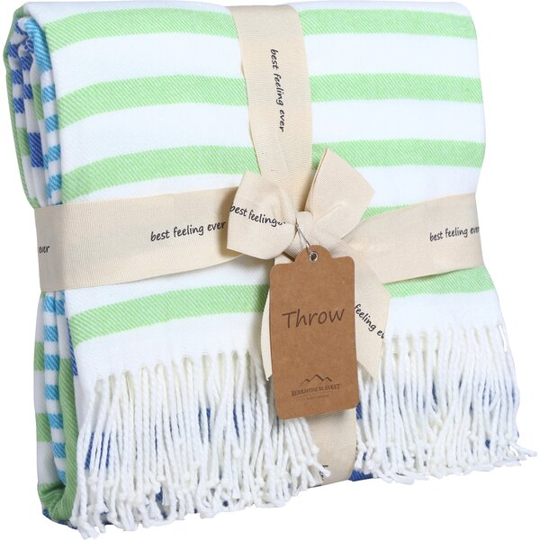 Woven Luxe Striped Throw by Better Living