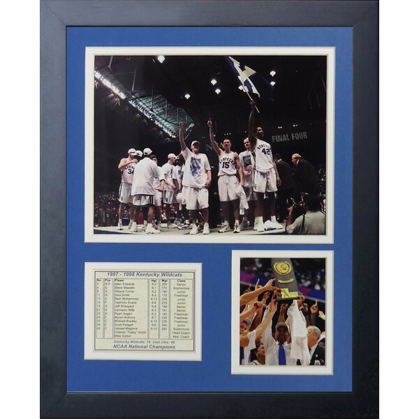 1998 Kentucky Wildcats Champions Framed Memorabilia by Legends Never Die