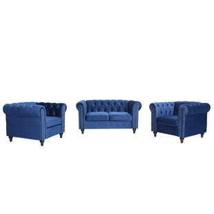Farrington Gurney 3 Piece Standard Living Room Set by House of Hampton®