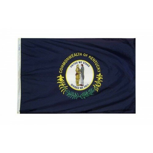 Kentucky Glo Traditional Flag by NeoPlex