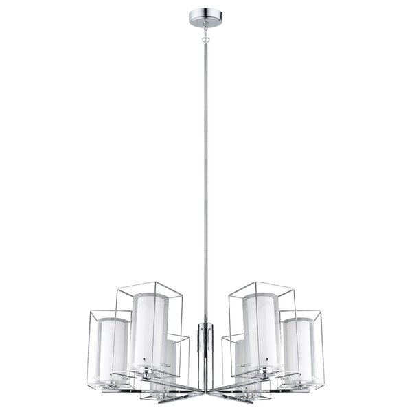 Dorla 6-Light Shaded Chandelier by Orren Ellis