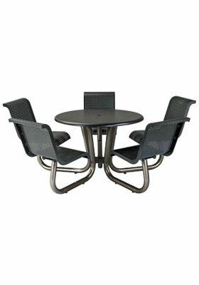 Site Furnishings Aluminum Picnic Table by Tropitone