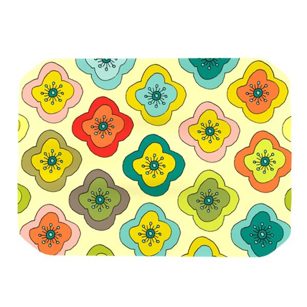 Forest Bloom Placemat by KESS InHouse