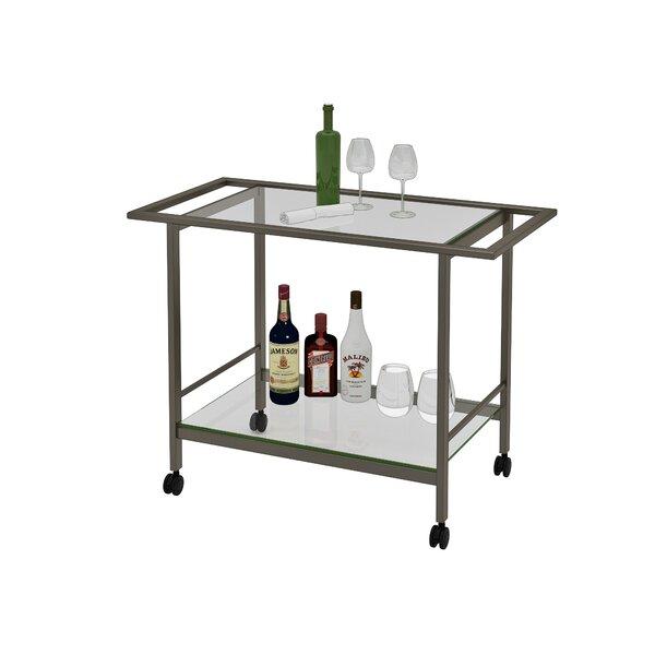 Swiger Bar Cart by Winston Porter Winston Porter