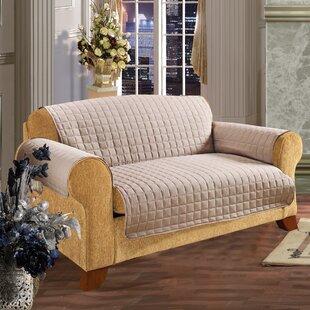 Furniture Protector Box Cushion Loveseat Slipcover