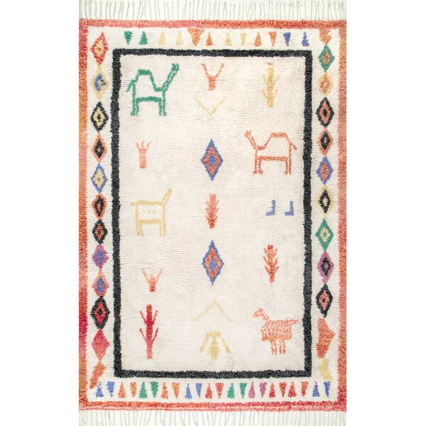 Danbrook Hand Tufted Ivory Area Rug by Bungalow Rose