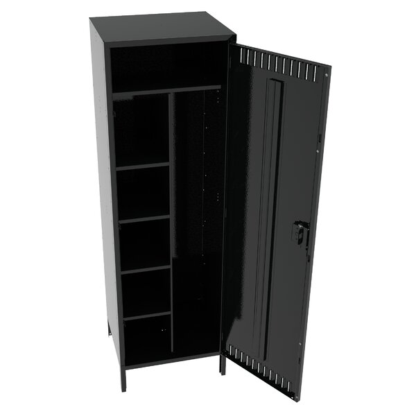 Combination 1 tier 1 wide Commercial Locker by Tennsco Corp.