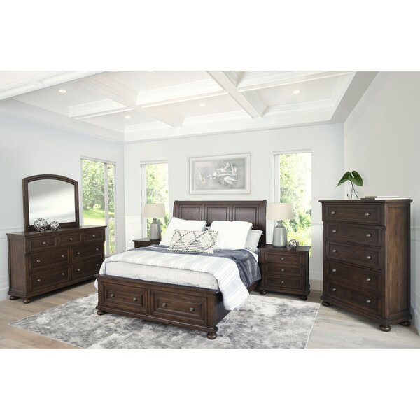 Chilmark Platform Solid Wood 6 Piece Bedroom Set by Darby Home Co