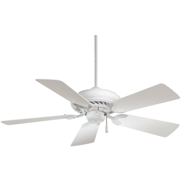 44 Supra 5-Blade Ceiling Fan by Minka Aire