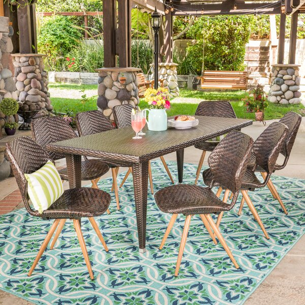 Freetown Outdoor 7 Piece Dining Set by George Oliver