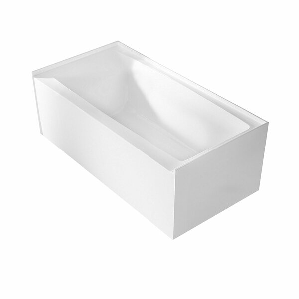 Pensacola 60 x 32 Alcove Soaking Bathtub by Maykke