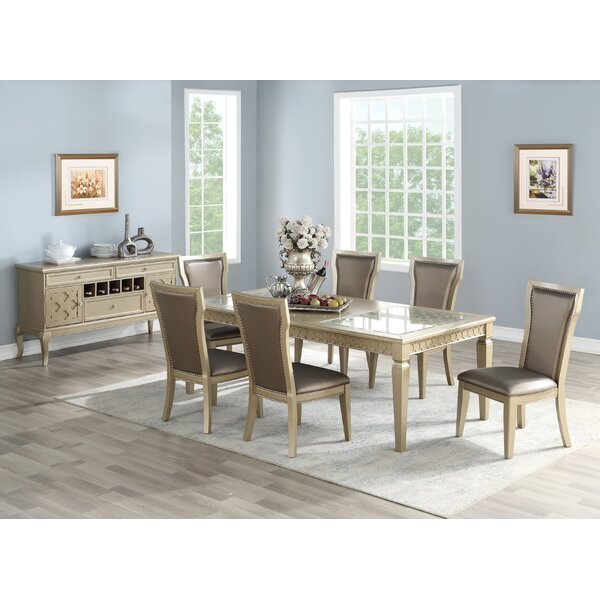 Branstetter 7 Piece Drop Leaf Dining Set by House of Hampton