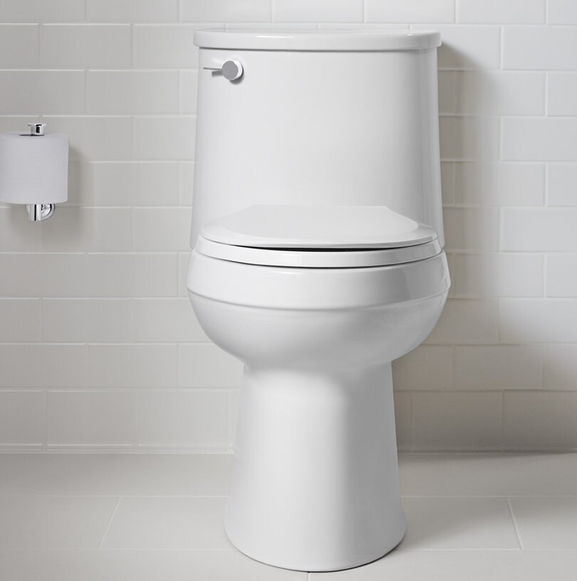 K 3946 0 95 96 Kohler Adair Comfort Height One Piece Elongated 1 28 Gpf Toilet With Aquapiston Flushing Technology And Left Hand Trip Lever Reviews