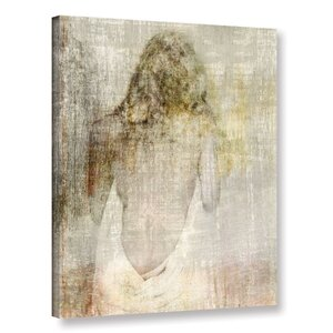 'Fado II' Painting Print on Wrapped Canvas by Zipcode Design