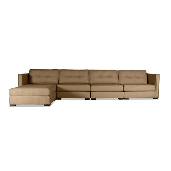 Timpson Buttoned Modular Sectional By Latitude Run 2019 Sale