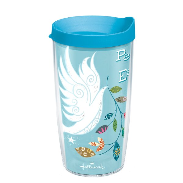 Peace On Earth Plastic Travel Tumbler by Tervis Tumbler