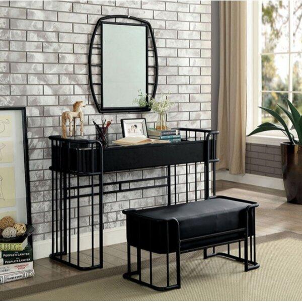 Longwood Vanity Set with Mirror by 17 Stories