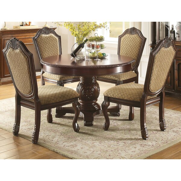 Caudillo 5 Piece Extendable Dining Set by Astoria Grand