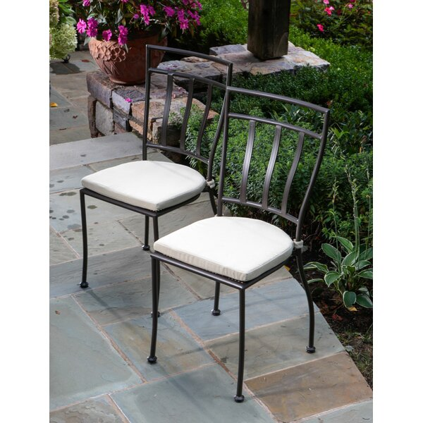Boulder Brook 3 Piece Bistro Set with Cushions by Fleur De Lis Living