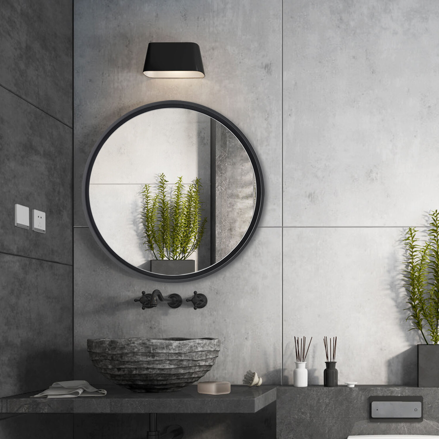 Latitude Run Wysong Modern Contemporary Bathroom Mirror Reviews Wayfair