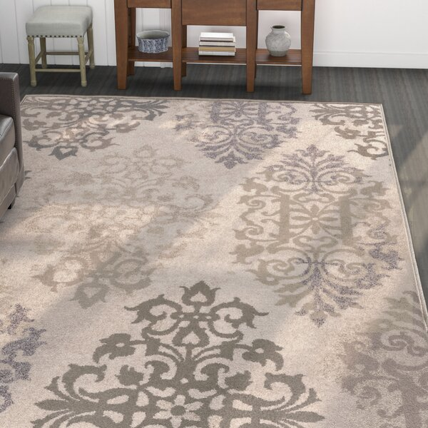 Niagara Beige Area Rug by Red Barrel Studio
