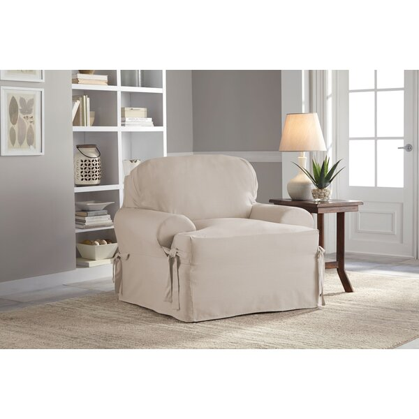 T-Cushion Armchair Slipcover by Serta