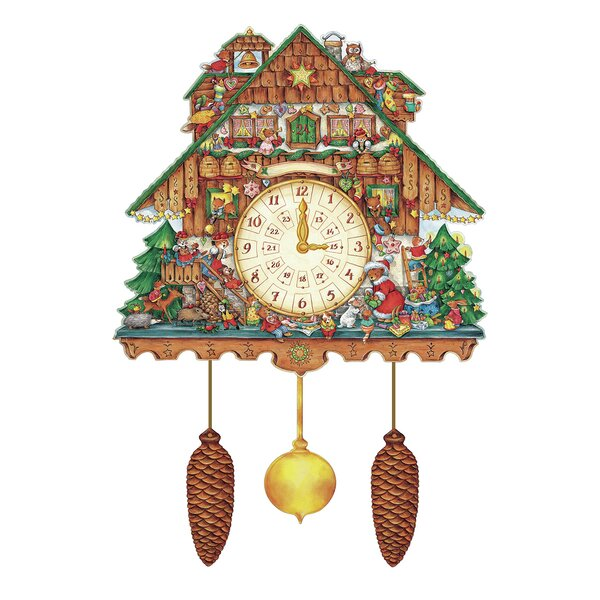 Korsch Advent Cuckoo Wall Calendar by Alexander Taron