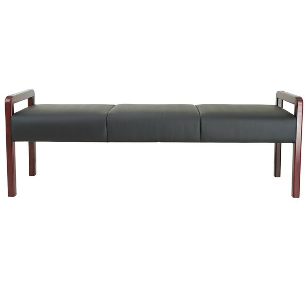 Tiedeman Reception Lounge Wood Bench by Latitude Run