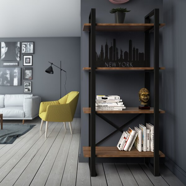 Argueta Etagere Bookcase by Foundry Select