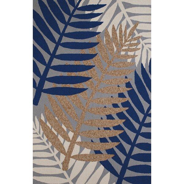 Sunbelt Hand-Woven Gray/Blue Indoor/Outdoor Area Rug by Panama Jack Home