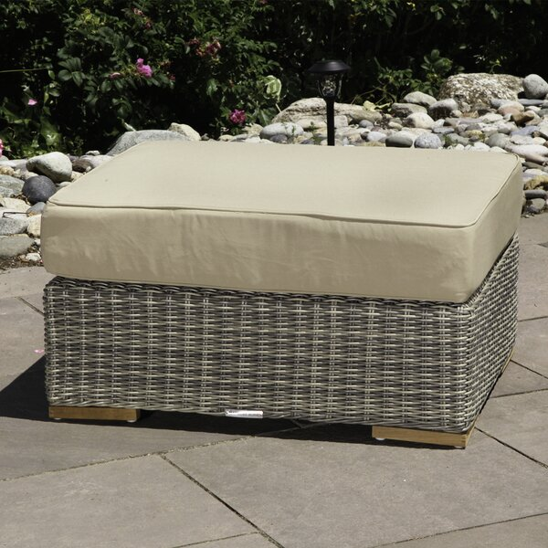 Corsica Ottoman with Cushion by Madbury Road