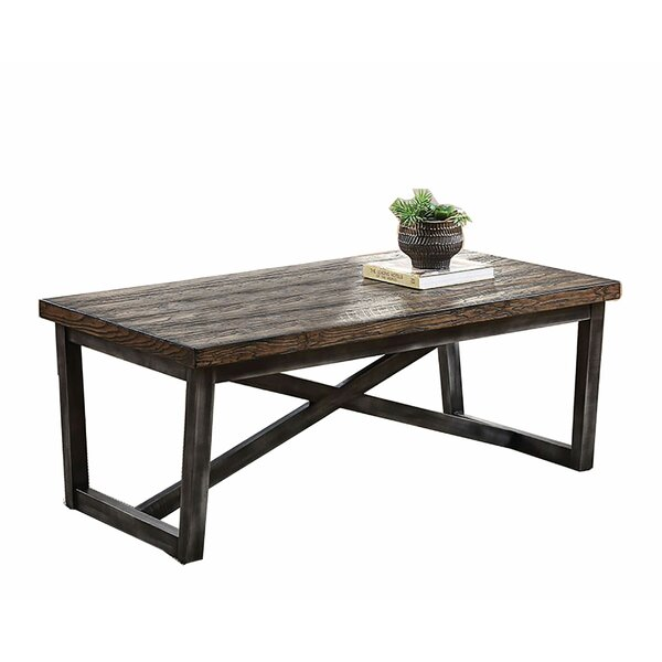 Lilyana Sled Coffee Table By Loon Peak