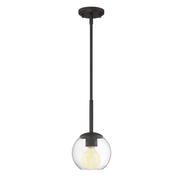 Cesar 1-Light Mini Pendant by Langley Street
