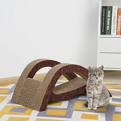 Elmhur 12 Scratcher Lounger Cat Perch by Tucker Murphy Pet