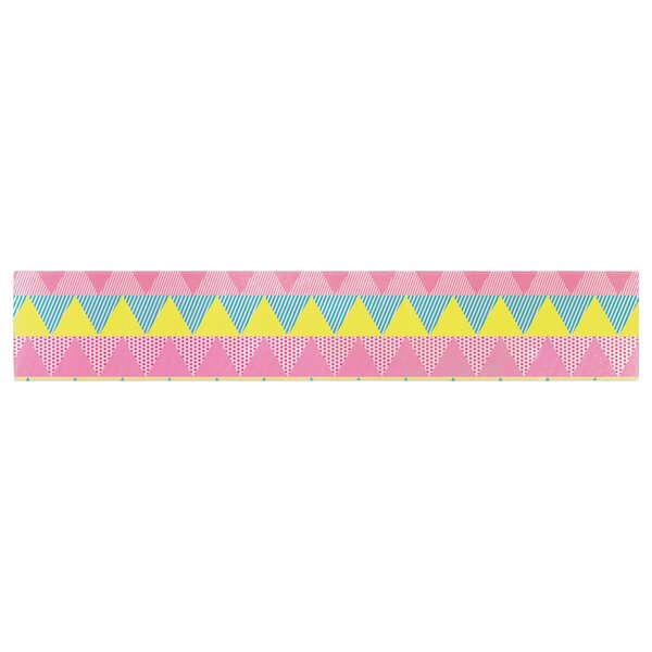 Louise Machado Triangles Table Runner by East Urban Home