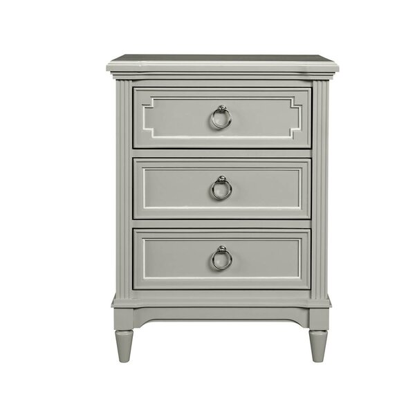 Clementine Court 3 Drawer Nightstand by Stone & Leigh™ by Stanley Furniture