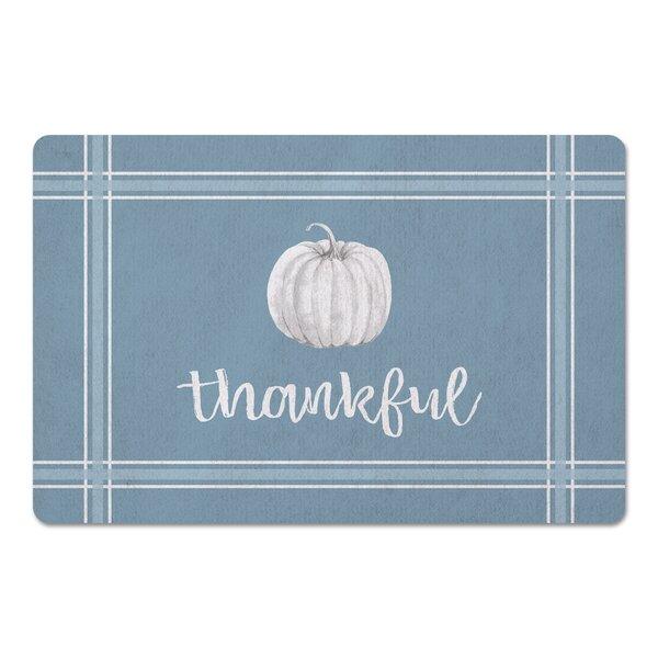 Fredericton Thankful Pumpkin Kitchen Mat