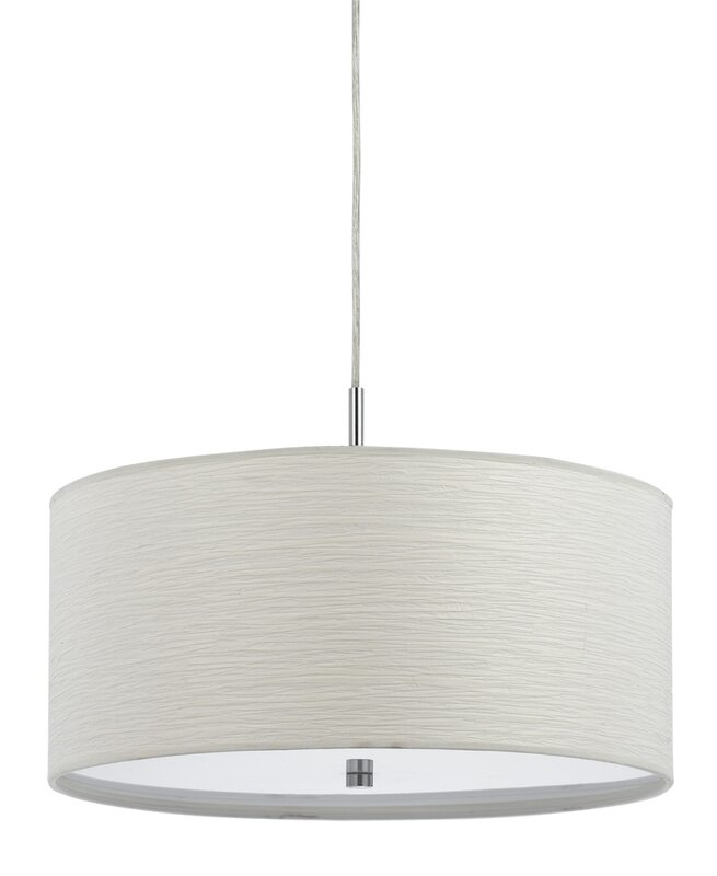 Zipcode design ariella 2 light drum pendant reviews wayfair ariella 2 light drum pendant mozeypictures Gallery