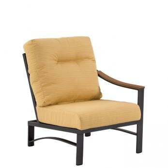 Brazo Patio Chair with Cushions by Tropitone