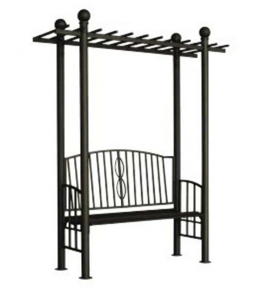 Toscana Metal Arbor with Bench by DC America