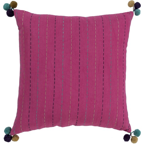 Dhaka Bohemian Global Cotton Throw Pillow by Surya