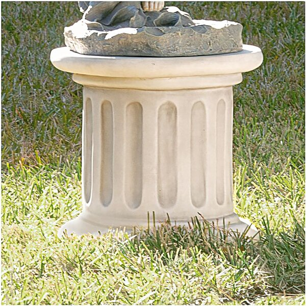 Classical Fluted Pedestal By Design Toscano.