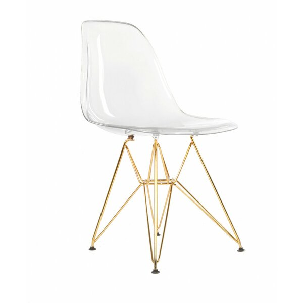 Goodfellow Acrylic Dining Chair by Everly Quinn