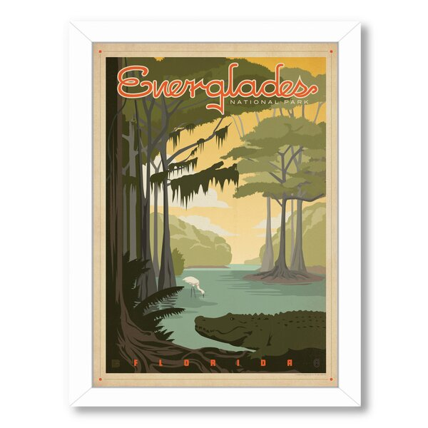 Everglades Framed Vintage Advertisement by East Urban Home
