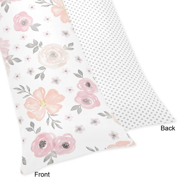 Floral Body Pillow Case by Sweet Jojo Designs