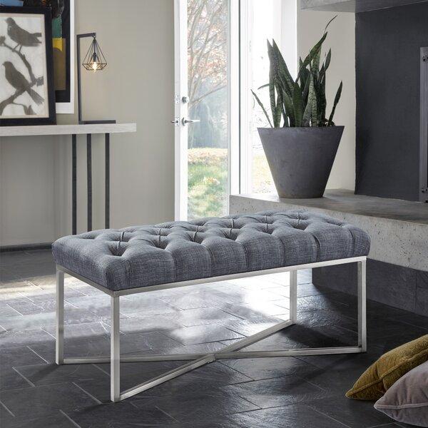 Steinke Upholstered Bench by Orren Ellis