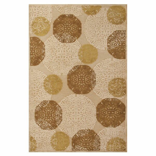 Jupiter Ivory Area Rug by Red Barrel Studio