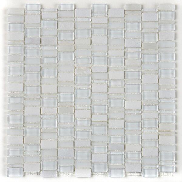 Clio Random Sized Glass Mosaic Tile in Luna by Daltile