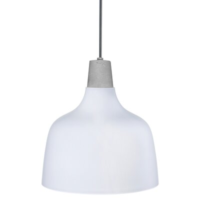 Nude Mira 1 Light Single Dome Pendant Nude Finish Opal White From Wayfair North America Shefinds
