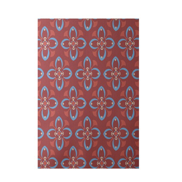 Coral Indoor/Outdoor Area Rug by e by design